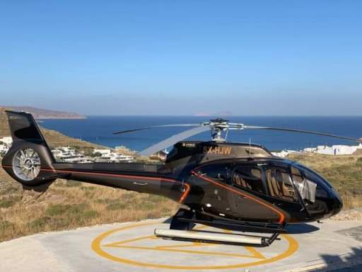 HELICOPTERFOR RENTAL GREECE AIRBUS H130B