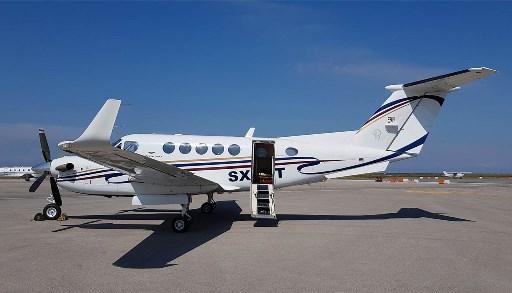 PRIVATE JET FOR RENTAL Super KingAir B200
