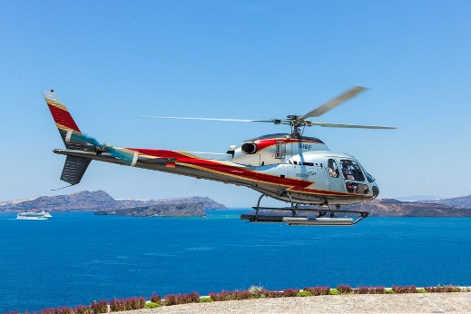 helicopter rental AS355N 1