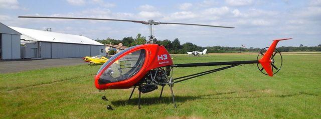 helicopter ultra ligjht dynali h3