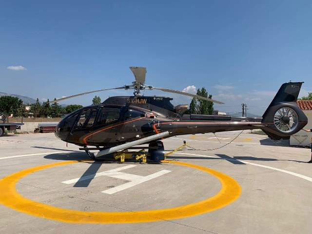 HELICOPTER RENTAL MYKONOS airbus H130 EXT
