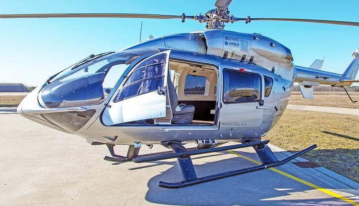 helicopter rental mykonos H145